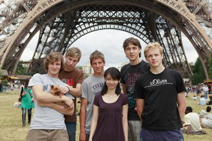 100 besos en Paris