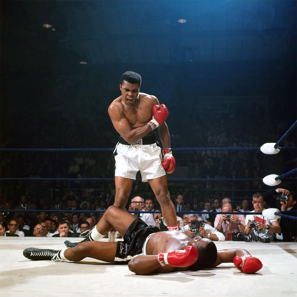 """Muhammad Ali y su """"directo fantasma"""""""