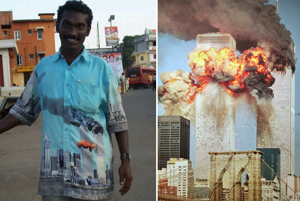 Camisa conmemorativa del 11S