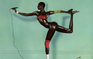 Jean-Paul Goude & Grace Jones