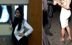 El culo Kardashian y la prueba del algodón