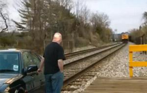 Cómo evitar ser atropellado por un tren