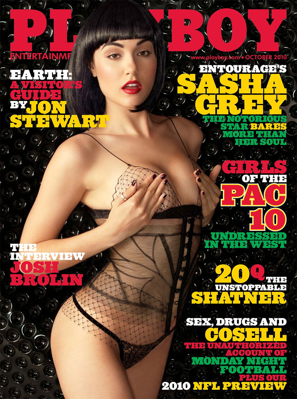 playboy sasha grey