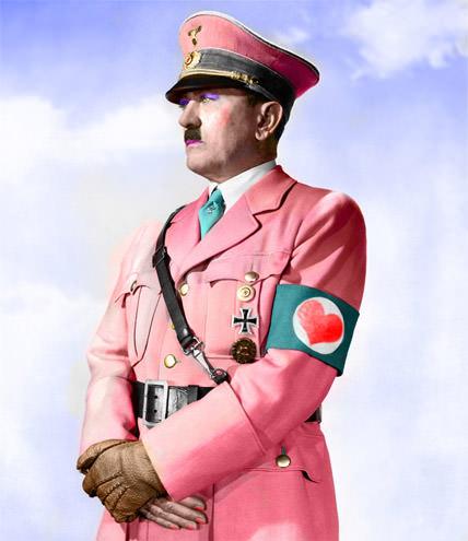 Publicidad con Adolf Hitler