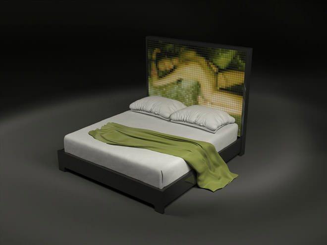 La cama indecente