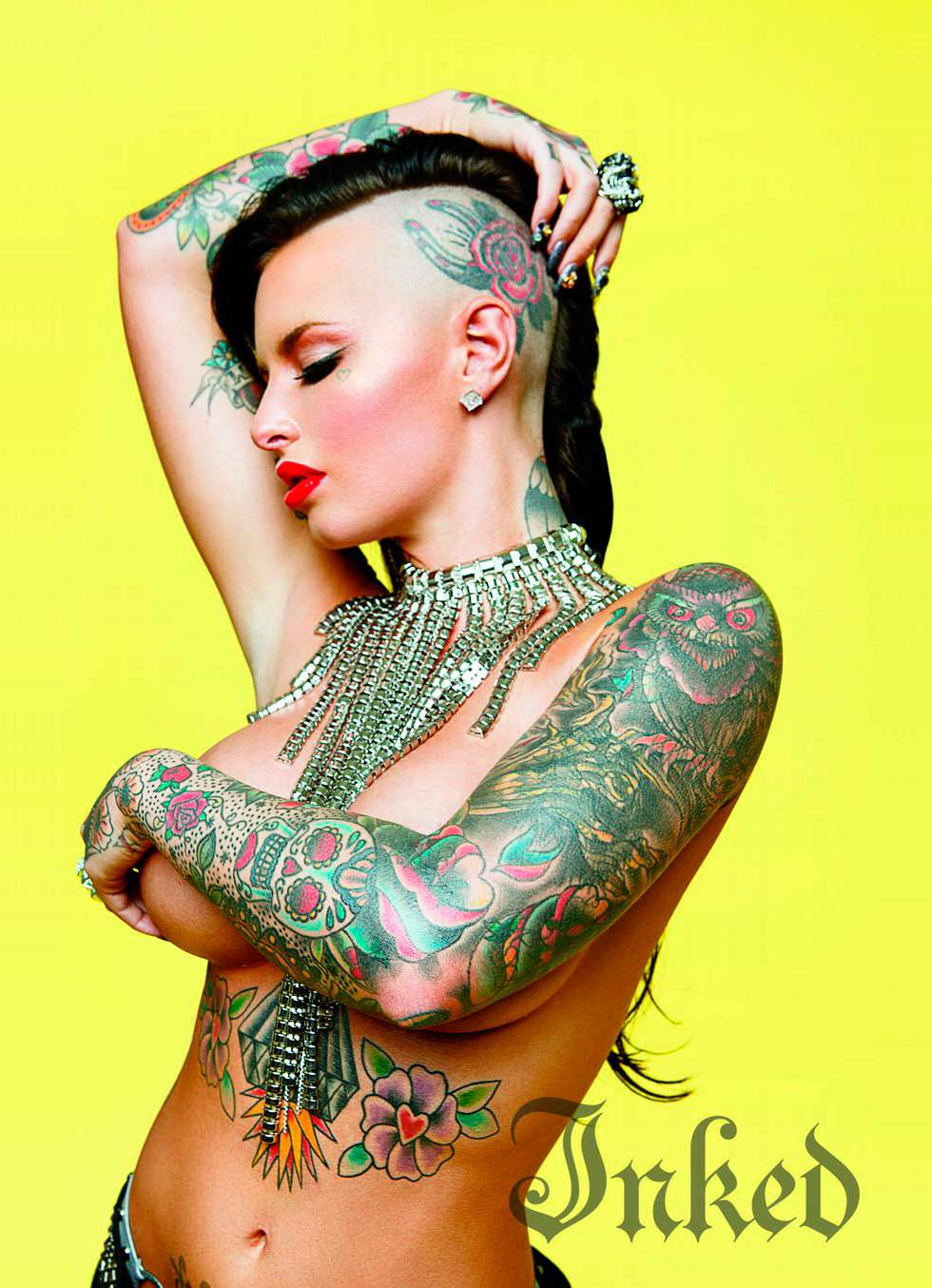 Татуировки кристи мак 5 фотография