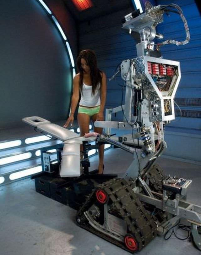 robot porno
