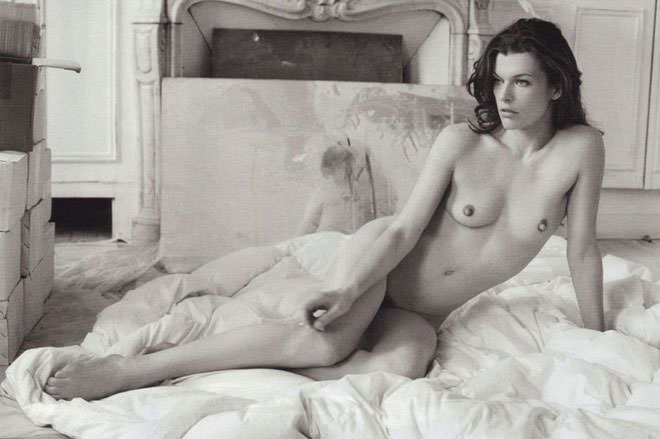 Jovovich nude milla video ariana