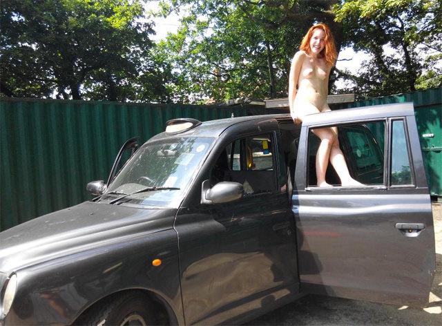 amarna miller — fake taxi