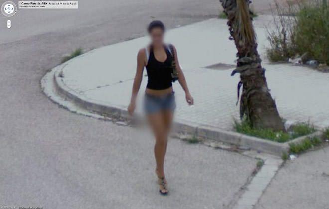Mujer desnuda en Google Earth - Imgenes - Taringa!
