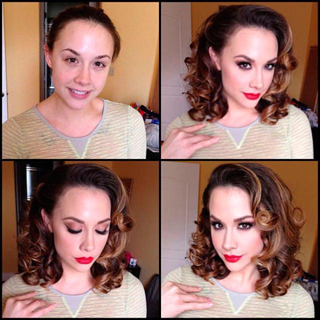 Chanel Preston sin maquillaje