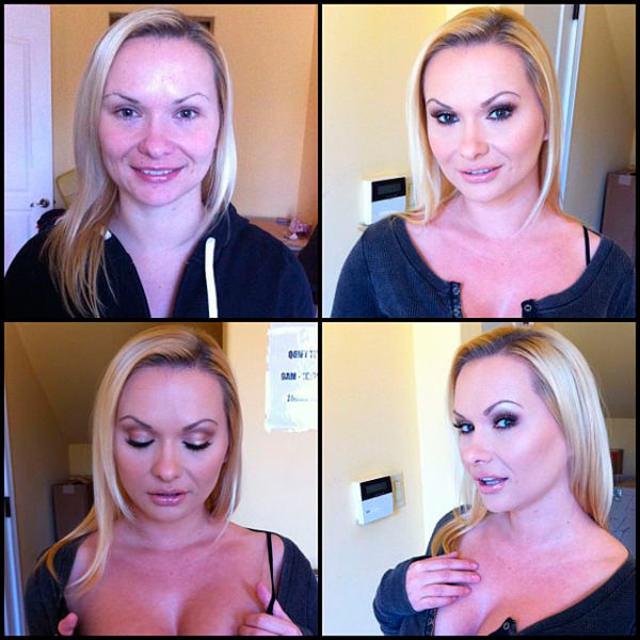 Katja Kassin sin maquillaje