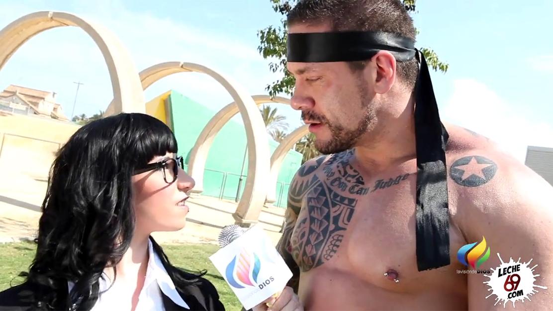 La entrevista que acabó con Brenda Boop untada