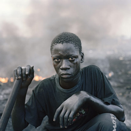 Vertedero tecnológico en Ghana
